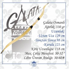 Galata - Osmanlı Lamine Yay